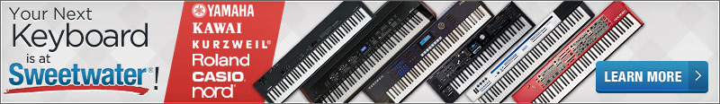 Your Next Keyboard is at Sweetwater