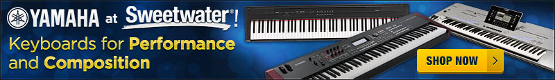 Yamaha Keyboards for Performance and Composition