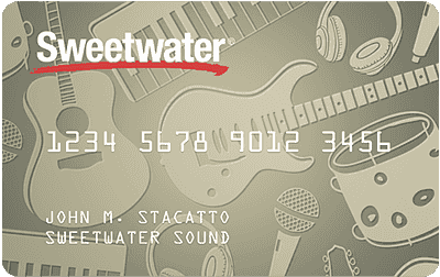 Sweetwater credit card