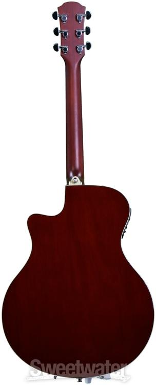 Yamaha Apx500ii Dark Red Burst Sweetwater Com