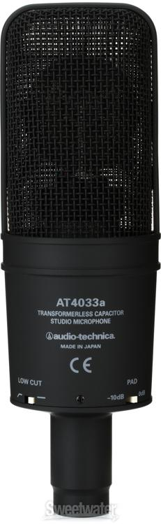 Audio Technica At4033 Cl Sweetwater Com