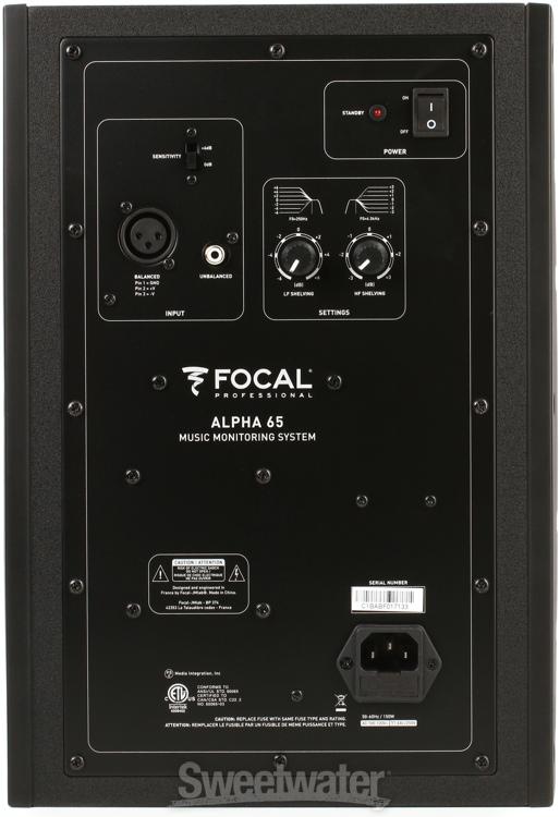 Focal Alpha 65 Sweetwater Com
