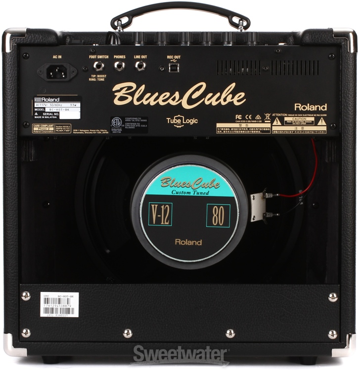 roland blues cube hot combo amp review by sweetwater sweetwater. Black Bedroom Furniture Sets. Home Design Ideas