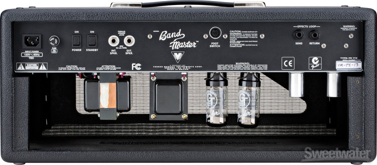 Fender Band Master Vm Tube Head Sweetwater Com