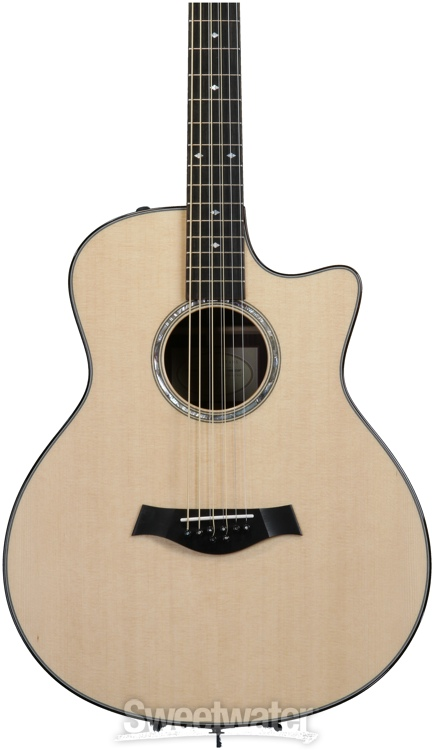 taylor baritone 8 eight string acoustic electric guitar demo sweetwater. Black Bedroom Furniture Sets. Home Design Ideas
