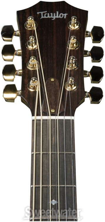 taylor baritone 8 eight string acoustic electric guitar demo sweetwater sweetwater. Black Bedroom Furniture Sets. Home Design Ideas