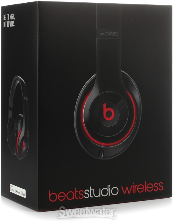 Beats Studio Wireless Bluetooth Headphones Black