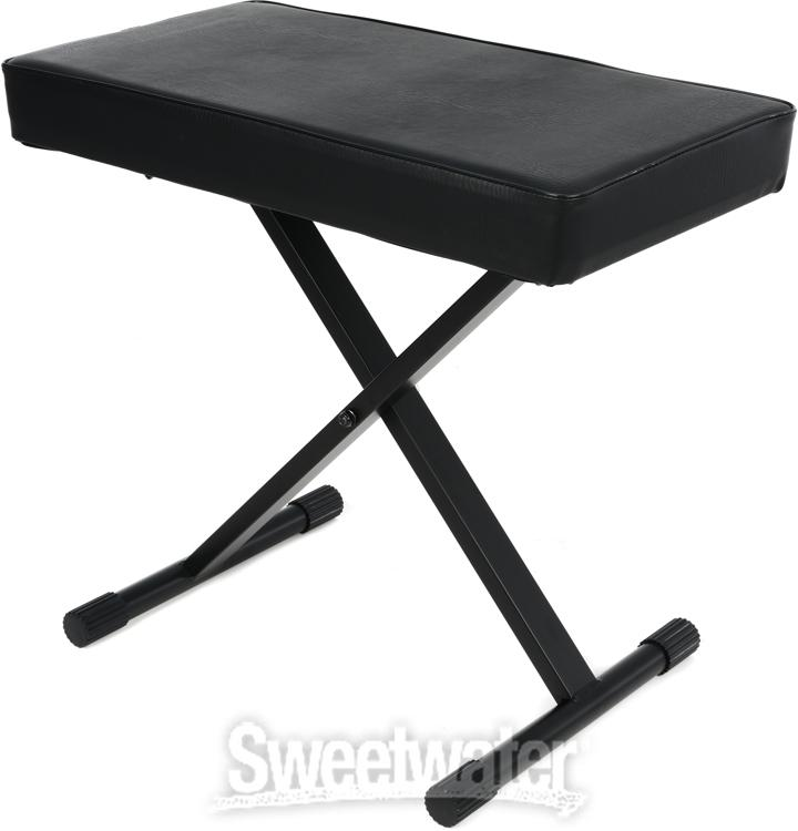 On Stage Stands Kt7800 Deluxe X Style Bench Sweetwater Com