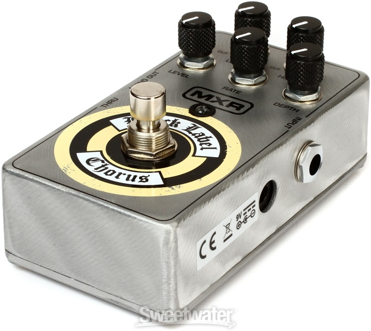 mxr zw38 black label chorus pedal review by sweetwater sound. Black Bedroom Furniture Sets. Home Design Ideas