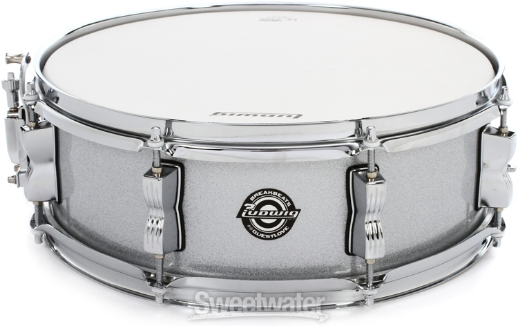 ludwig breakbeats by questlove 4 piece shell pack with snare drum white sparkle. Black Bedroom Furniture Sets. Home Design Ideas