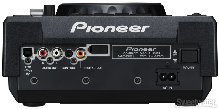 Close-up image | Pioneer Pro DJ CDJ-400