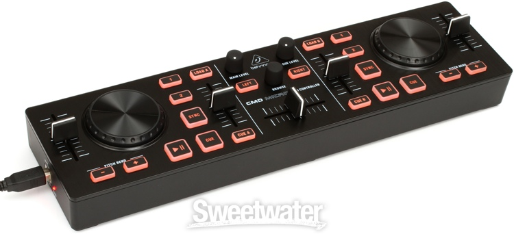 Midi Decks Cmd Micro 2-deck dj Midi