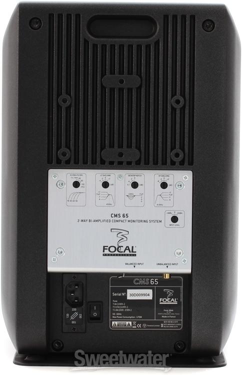 focal cms 65 v2 2 1 monitoring system. Black Bedroom Furniture Sets. Home Design Ideas