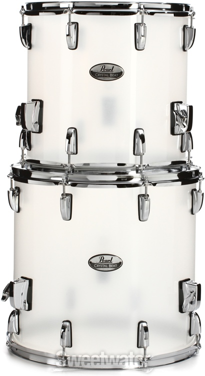 Pearl Crystal Beat Shell Pack 5 Pc Frosted Finish