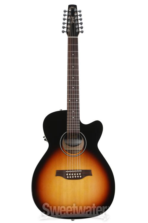 seagull guitars coastline spruce 12 string guitar demo sweetwater. Black Bedroom Furniture Sets. Home Design Ideas