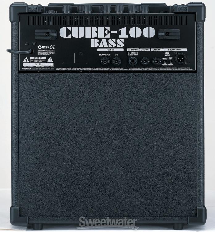 sold 200 roland cube 100 bass amp. Black Bedroom Furniture Sets. Home Design Ideas