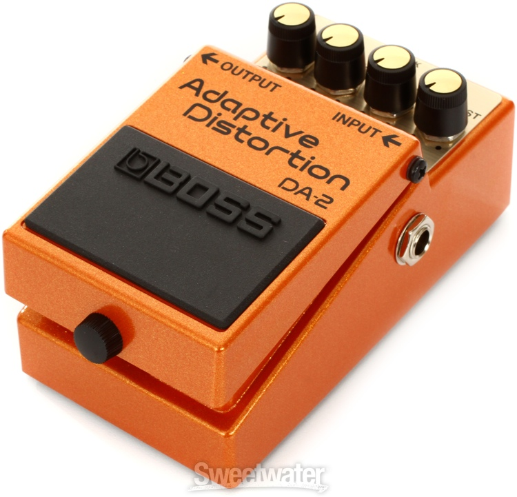 boss da 2 adaptive distortion pedal demo by pete thorn sweetwater. Black Bedroom Furniture Sets. Home Design Ideas