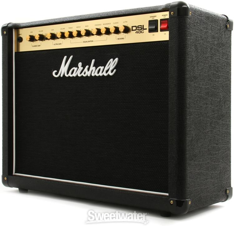 marshall dsl40c 40 20w 1x12 guitar combo amp. Black Bedroom Furniture Sets. Home Design Ideas