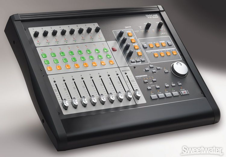 Tascam fw 1082 for Firewire mixer motorized faders