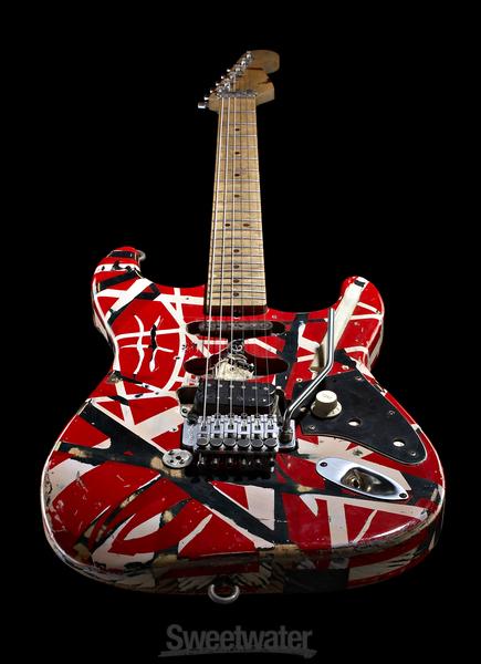 evh eddie van halen frankenstein replica guitar. Black Bedroom Furniture Sets. Home Design Ideas