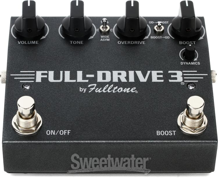 fulltone fulldrive 3 overdrive pedal review sweetwater. Black Bedroom Furniture Sets. Home Design Ideas
