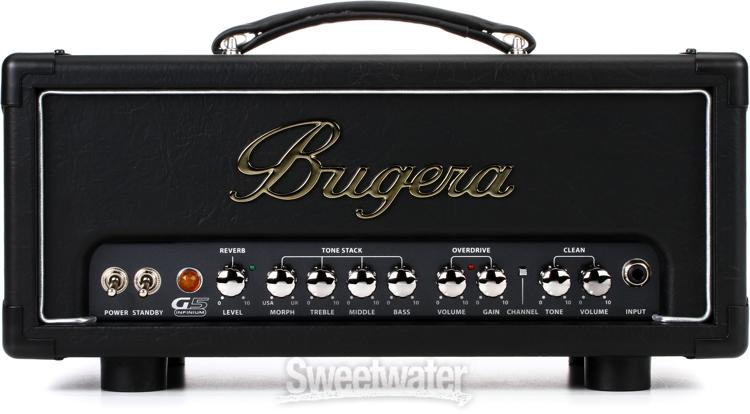bugera g5 infinium tube amplifier head review by sweetwater sound insync sweetwater. Black Bedroom Furniture Sets. Home Design Ideas