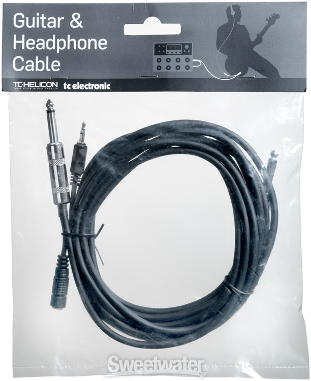 tc helicon guitar headphone cable. Black Bedroom Furniture Sets. Home Design Ideas