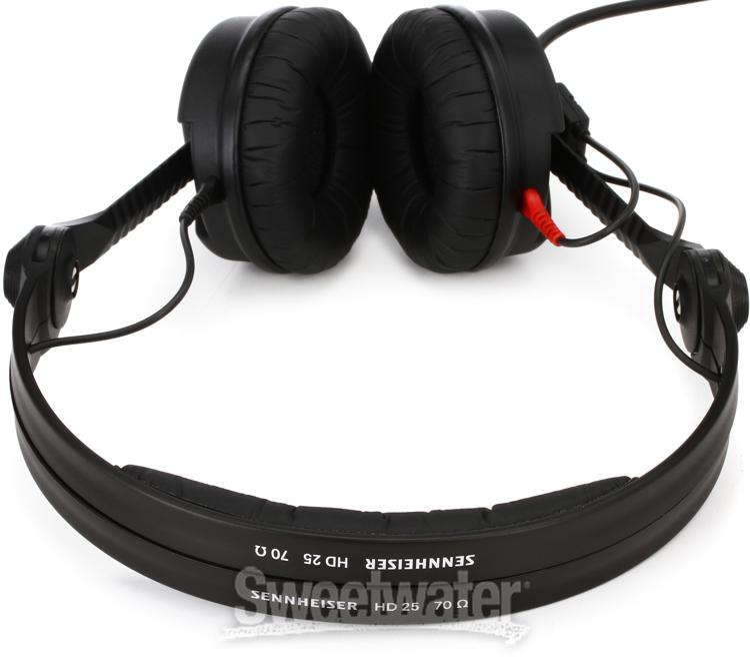 sennheiser hd 25 plus closed back on ear studio headphones. Black Bedroom Furniture Sets. Home Design Ideas