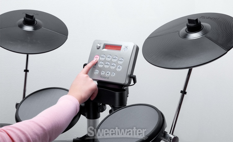 sweetwater sound roland hd 3 v drums lite video demo sweetwater. Black Bedroom Furniture Sets. Home Design Ideas