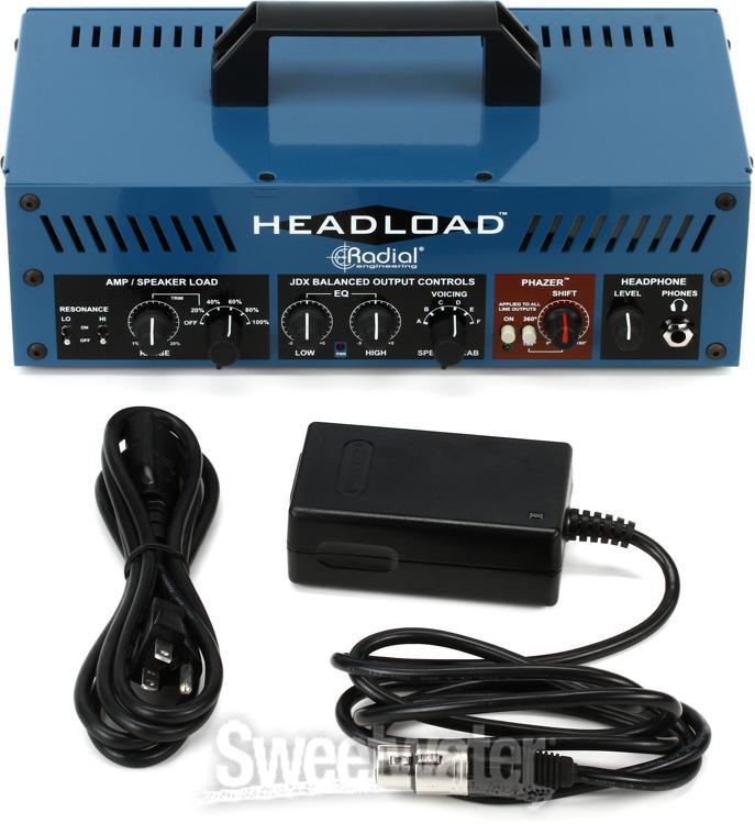 radial headload v8 speaker load box with cab simulator. Black Bedroom Furniture Sets. Home Design Ideas