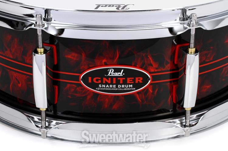 pearl casey cooper signature snare drum at winter namm 2018 sweetwater. Black Bedroom Furniture Sets. Home Design Ideas
