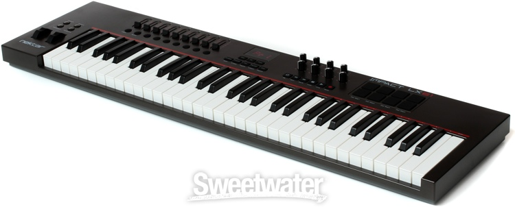 nektar impact lx61 61 key midi controller keyboard. Black Bedroom Furniture Sets. Home Design Ideas