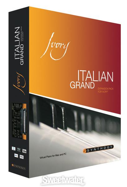 Synthogy Ivory Italian Grand Expansion VSTi RTAS AU HYBRiD DVDR