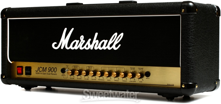 Marshall JCM900 4100 100W 2 Channel Tube Head