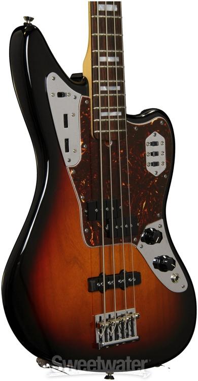 fender american standard jaguar bass 3 color sunburst. Black Bedroom Furniture Sets. Home Design Ideas