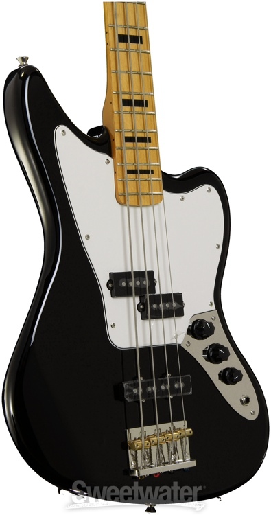 fender modern player jaguar bass black. Black Bedroom Furniture Sets. Home Design Ideas