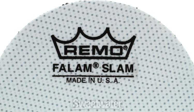 remo falam slam pad 2 1 2 single kick 2 pack. Black Bedroom Furniture Sets. Home Design Ideas