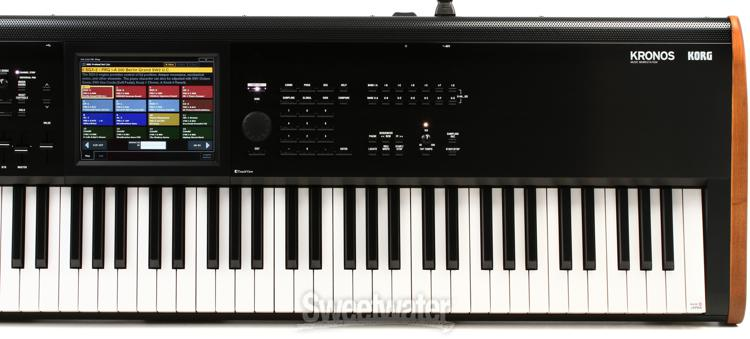 Korg Kronos 88 Key Synthesizer Workstation Sweetwater Com