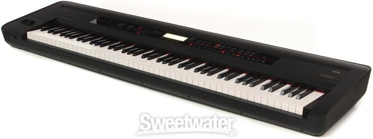 Korg Kross 88 Key Synthesizer Workstation Black