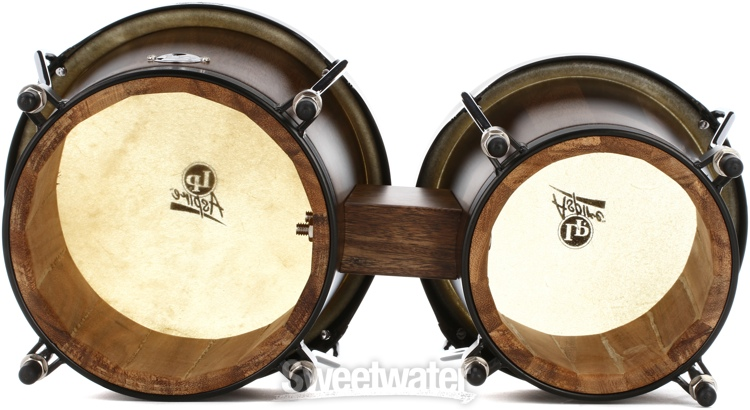 Latin Percussion Aspire Jamjuree Wood Bongos Natural