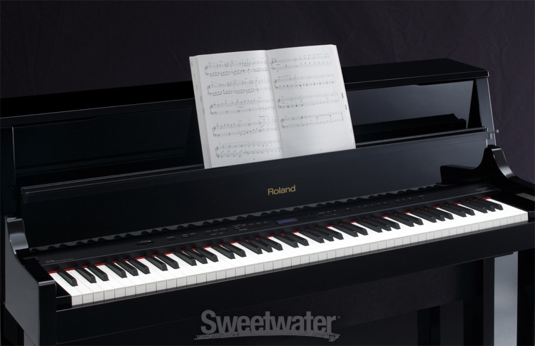 roland lx 15e digital piano polished ebony finish. Black Bedroom Furniture Sets. Home Design Ideas
