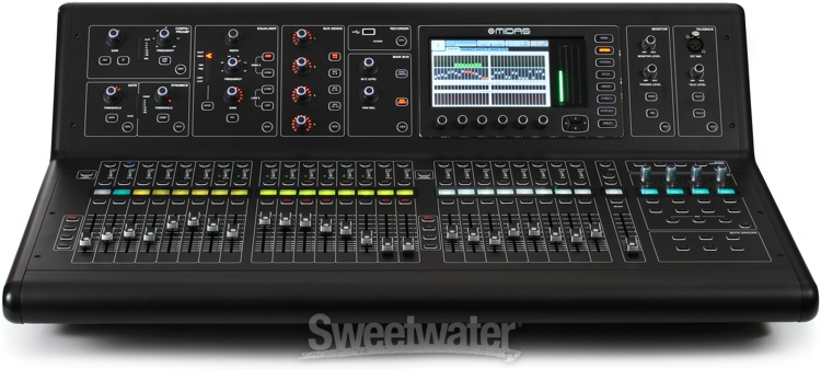 midas m32 digital mix console review sweetwater. Black Bedroom Furniture Sets. Home Design Ideas