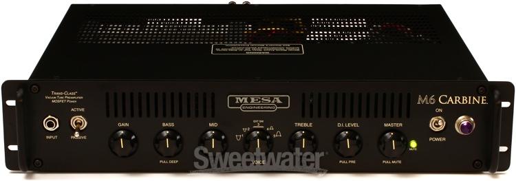 mesa boogie m6 carbine 600 watt bass head rackmount. Black Bedroom Furniture Sets. Home Design Ideas