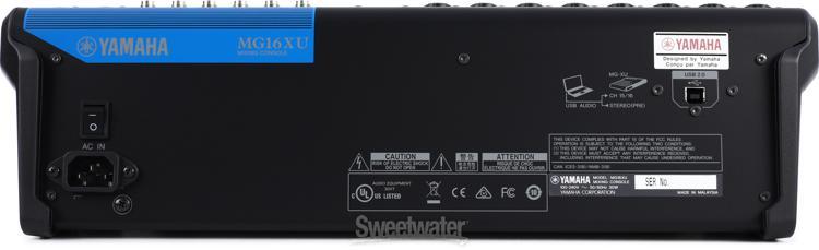 yamaha mg16xu sweetwater