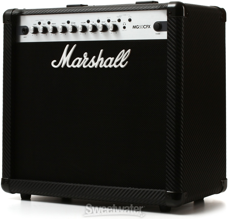 marshall mg50cfx 50w 1x12 guitar combo amp. Black Bedroom Furniture Sets. Home Design Ideas