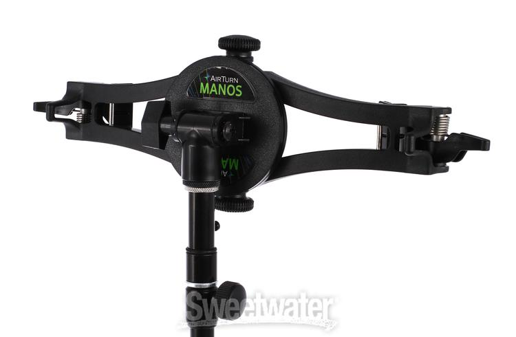 Airturn Manos Universal Tablet Ipod Mount Sweetwater Com