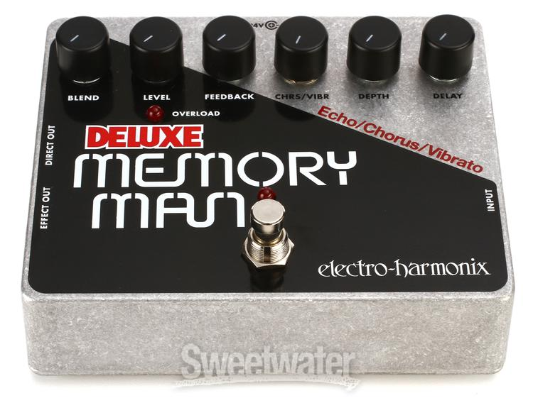 Electro-Harmonix Deluxe Memory Man Delay Pedal Review by Sweetwater