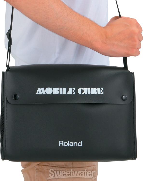 roland cb mbc1 carry bag for mobile cube. Black Bedroom Furniture Sets. Home Design Ideas
