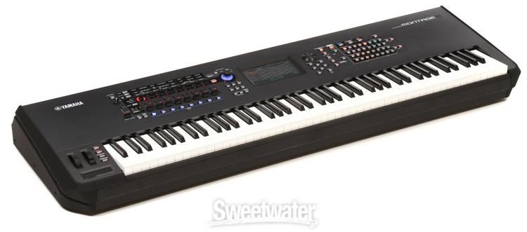 yamaha montage 8 keyboard synthesizer demo by sweetwater. Black Bedroom Furniture Sets. Home Design Ideas