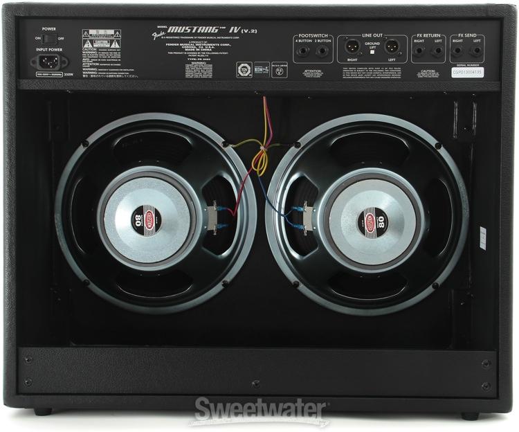 winter namm 2013 fender mustang v 2 amplifiers sweetwater. Black Bedroom Furniture Sets. Home Design Ideas